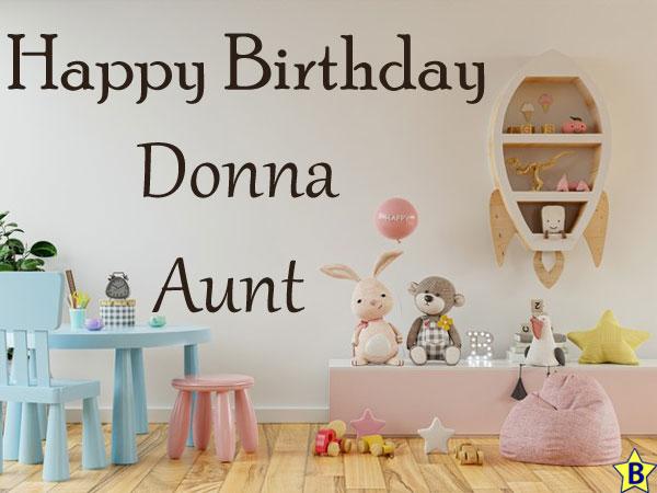 happy birthday aunt donna images