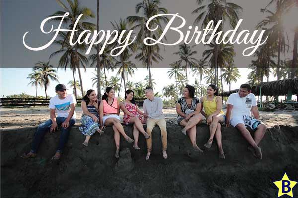 happy birthday beach friend images
