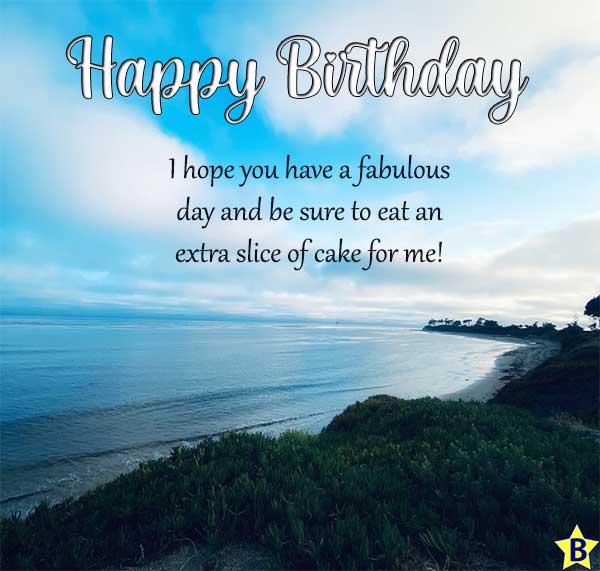 happy birthday beach images sky
