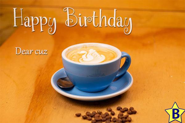 happy birthday cuz images coffee