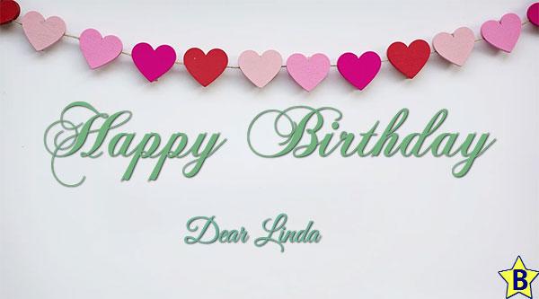 happy birthday dear linda images