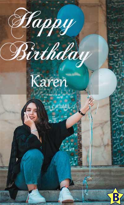 happy birthday karen photos