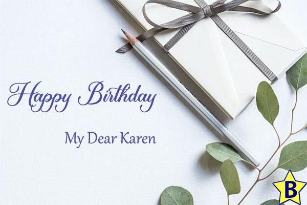 happy birthday karen pics