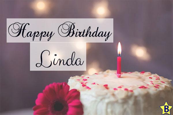 happy birthday linda cake images