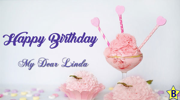 happy birthday linda images cup-cake