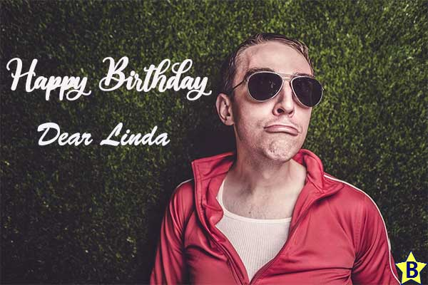 happy birthday linda images funny