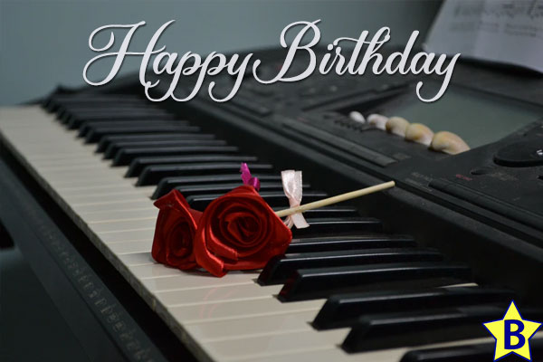 happy birthday wishes with music images