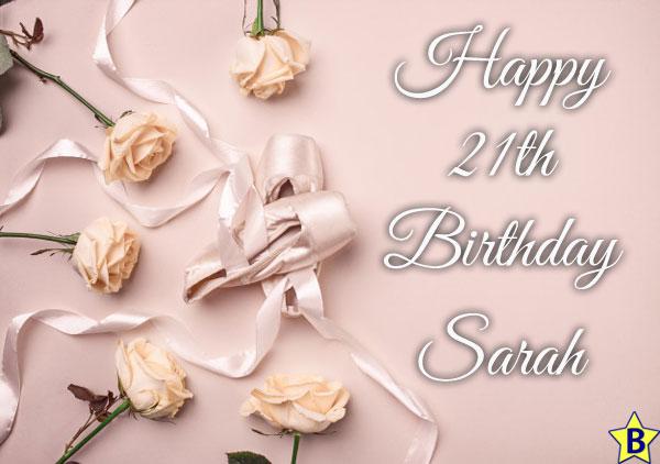 Happy 21th Birthday Sarah Images