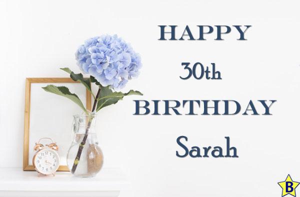 Happy 30th Birthday Sarah Images