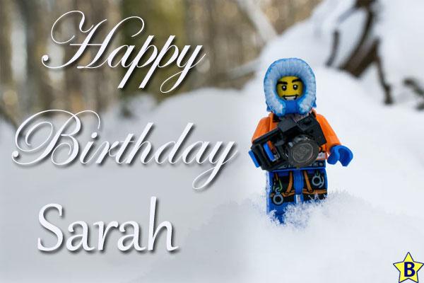 Happy Birthday Sarah Pictures