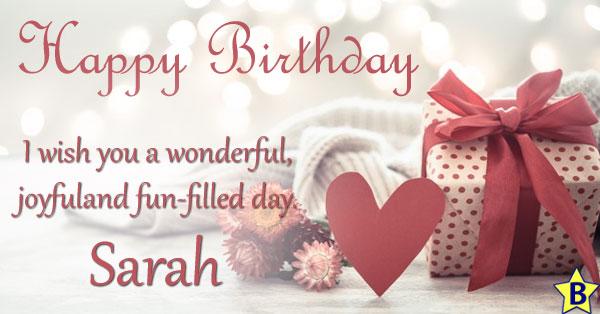 Happy Birthday Sarah Quotes