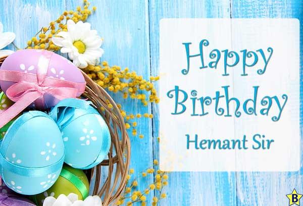 happy birthday images Hemant-Sir