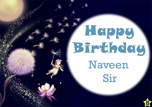happy birthday images naveen-sir