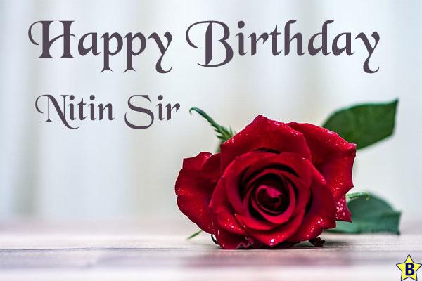 happy birthday images nitin-sir