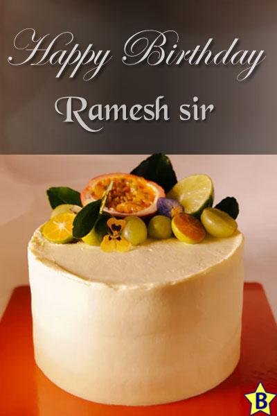 happy birthday images ramesh-sir