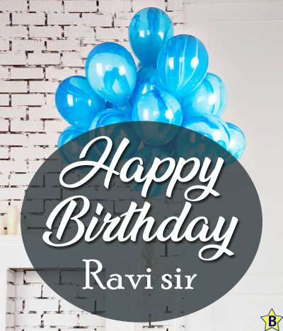 happy birthday images ravi-sir