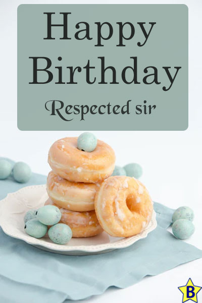 happy birthday images respected-sir