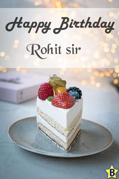 happy birthday images rohit-sir