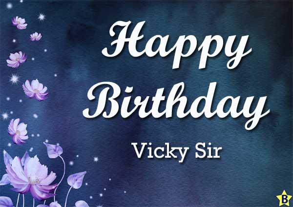 happy birthday images vicky