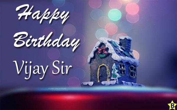 happy birthday images vijay sir