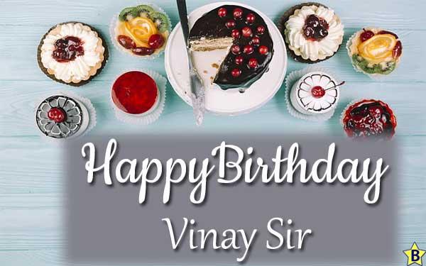 happy birthday images vinay sir
