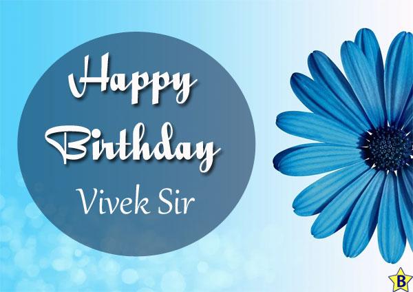 happy birthday images vivek-sir