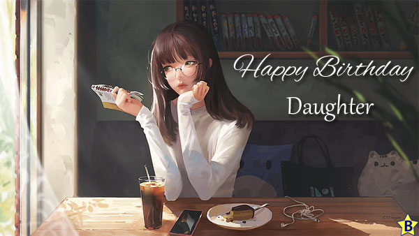 Happy Birthday Daughter Images cartoon