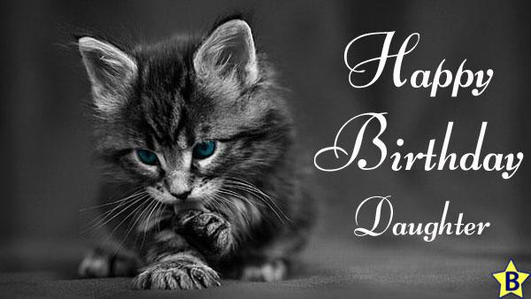 Happy Birthday Daughter Images cat