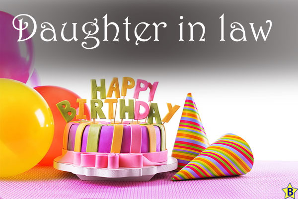 Happy Birthday Images daughter-in-law