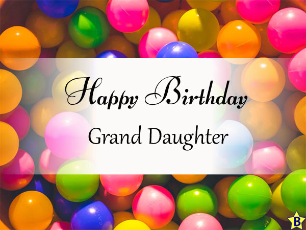 Happy Birthday Images grand-daughter