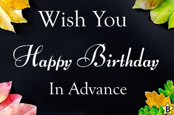 advance happy birthday images background