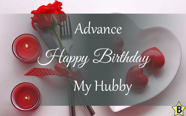 advance happy birthday images my-hubby