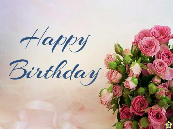 exotic Happy Birthday Flowers Images
