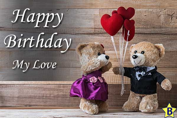 happy birthday love images for-wife