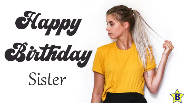 happy birthday love images sister