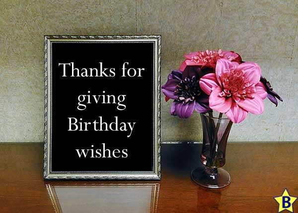 happy birthday thanks image