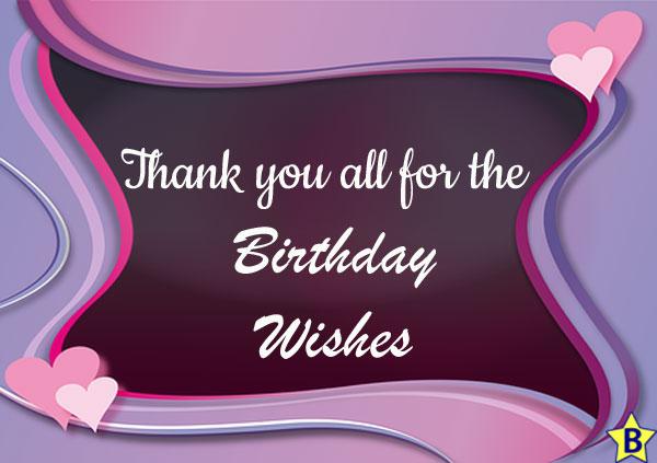 thank you happy birthday wishes on my birthday