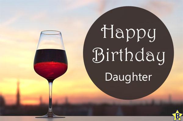 wine Happy Birthday Daughter Images