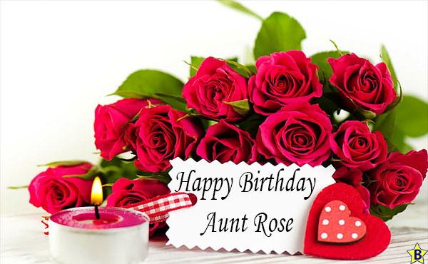 HAPPY BIRTHDAY pictures Aunt Rose