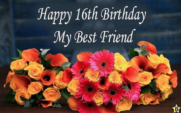 Happy 16th birthday dear friend