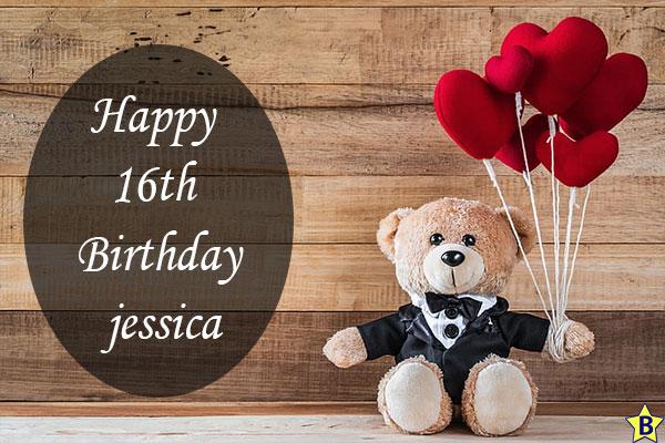 Happy 16th birthday jessica