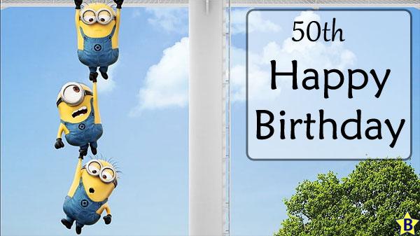 Happy 50th Birthday Images disney