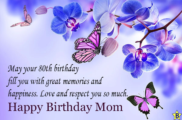 Happy 80th Birthday, Mom