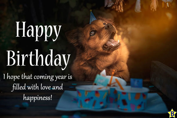 Happy Birthday Dog Images blessings