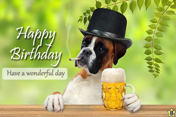 Happy Birthday Dog Images cool