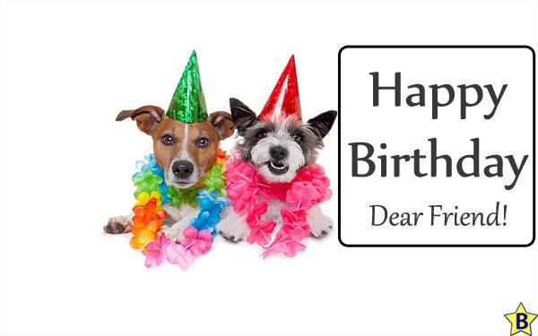 Happy Birthday Dog Images friend