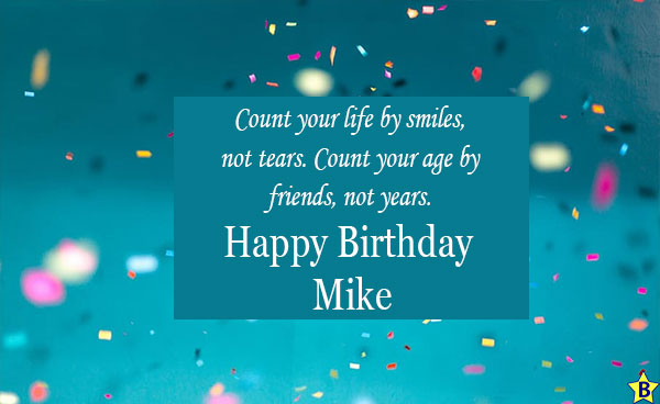 Happy Birthday Mike Images for mobile