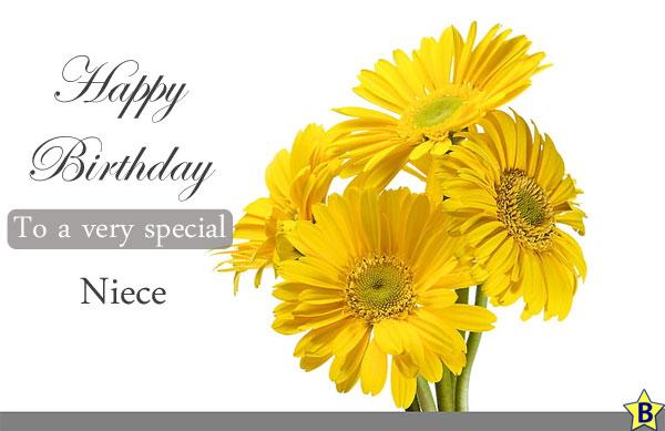 Happy Birthday Niece Images sunflower