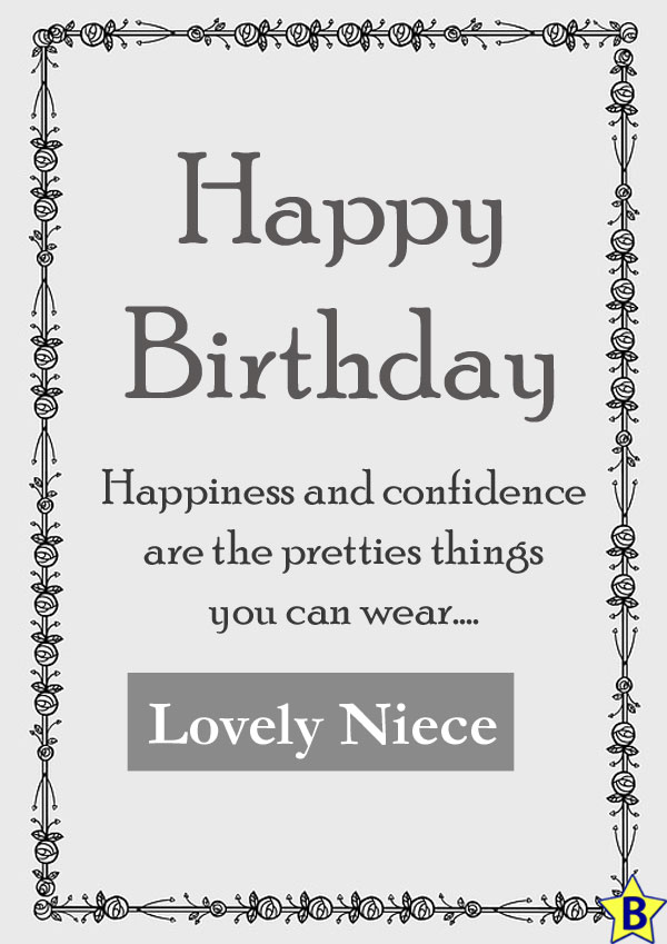 Happy Birthday Niece messages
