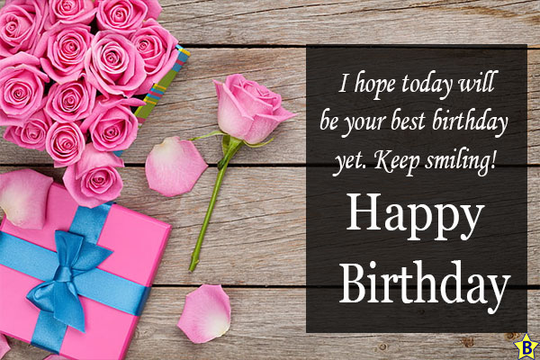 Happy Birthday Rose Messages